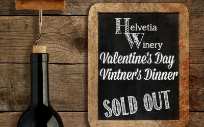 Valentine's Day Vintner's Dinner 2016