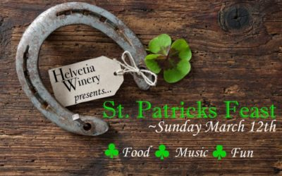 St. Patricks Feast at Helvetia Winery