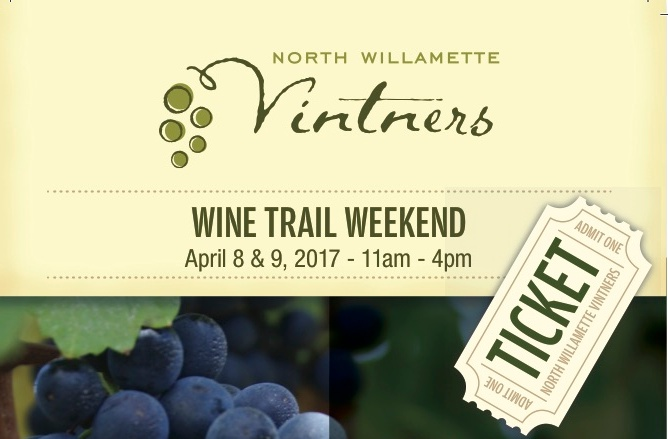 9th Annual North Willamette Vintners Wine Trail
