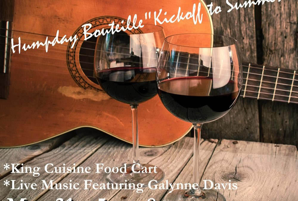 "Humpday Bouteille ""Kickoff to Summer"""
