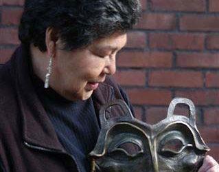 Lillian Pitt at Helvetia Winery